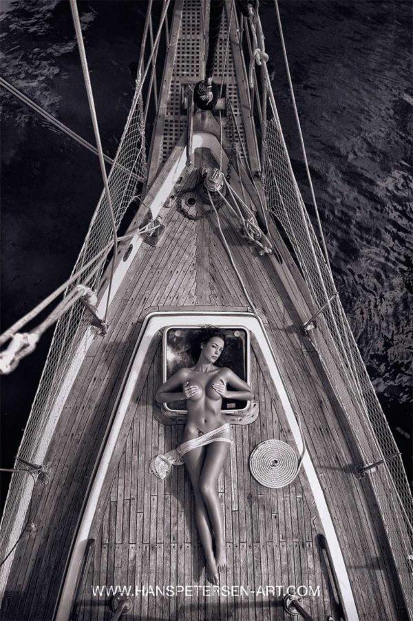Hans Petersen Sailing home