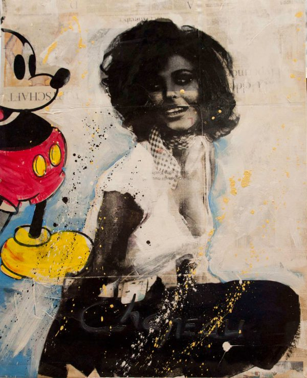 Ronald Chapeau Sophia Loren